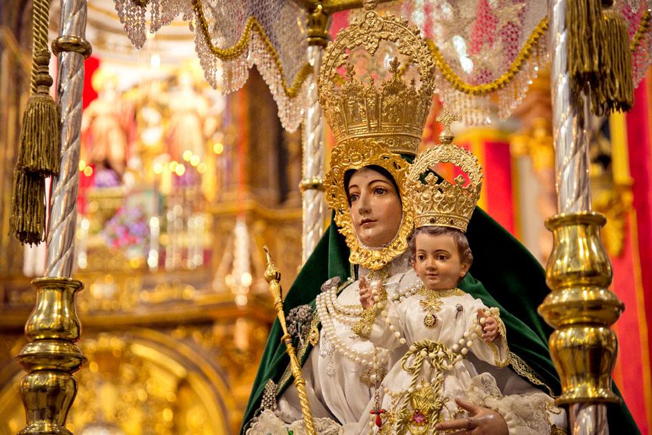 Virgen de Araceli Málaga